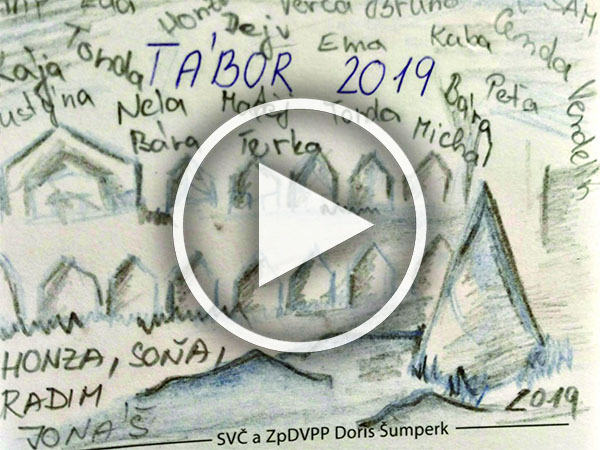 Video - tábory 2019
